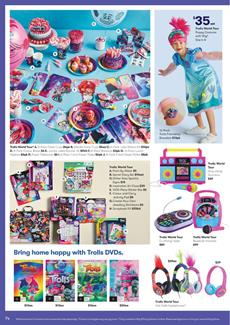 Big W Trolls World Party | Easter Toy Sale Catalogue 2 - 15 Apr 2020