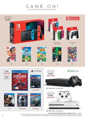 Target Game Sale April 2020 | Save $100 on Consoles