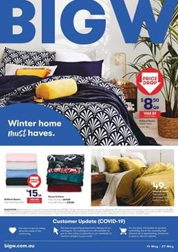 Big W Catalogue Home Products 14 - 27 May 2020