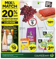 Countdown Mailer Sale 25 - 31 May 2020