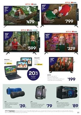 DGTEC LED TV 32-inch with DVD Combo at Big W