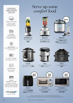 Myer Catalogue Kitchen Gifts for Mother's Day