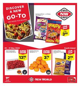 New World Mailer Sale 25 - 31 May 2020