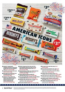 ALDI American Snacks 1 Jun 2020