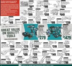 Bunnings Tax Time Power Tool Deals June 2020