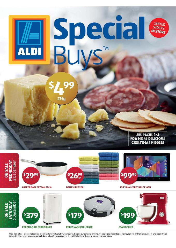 aldi catalogue december christmas deals 2014