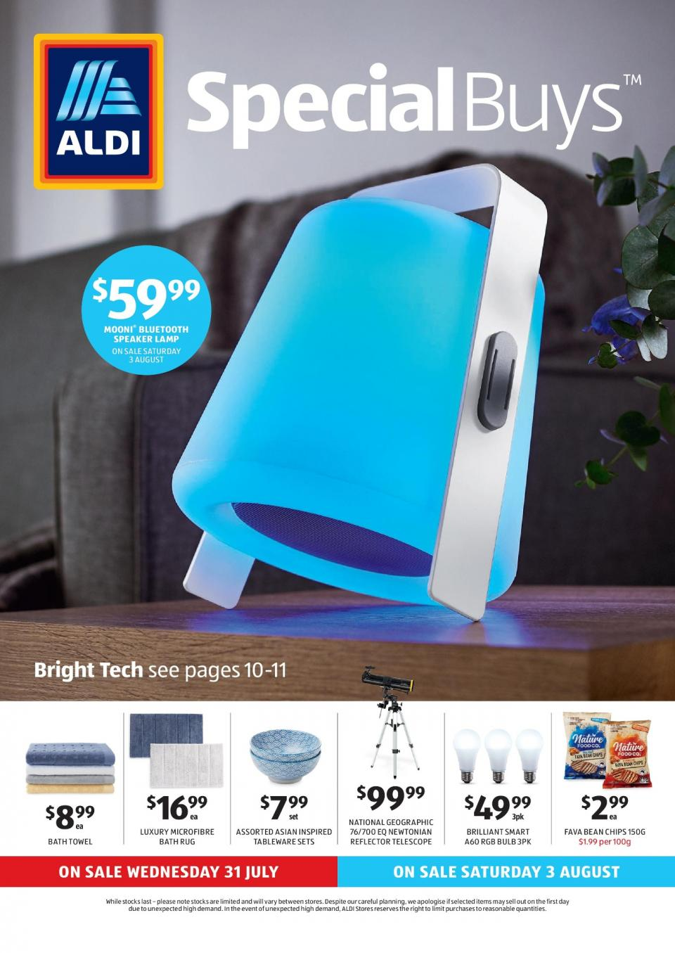 aldi catalogue special buys week 31 2019. Black Bedroom Furniture Sets. Home Design Ideas
