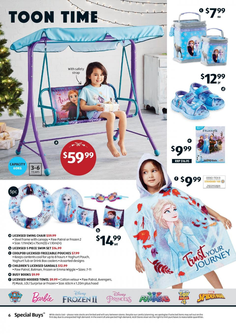 ALDI Catalogue Christmas Products 11 December 2019 Special Buys