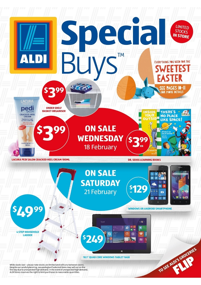 aldi catalogue specials latest february 2015