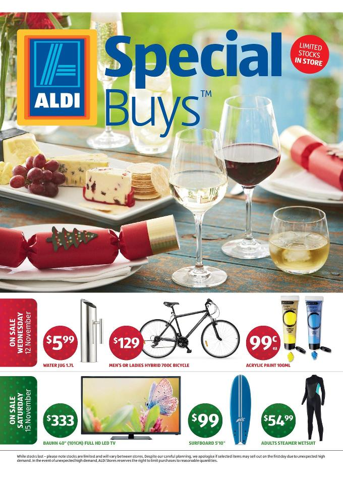 Aldi Special Buys Christmas Products November 2014