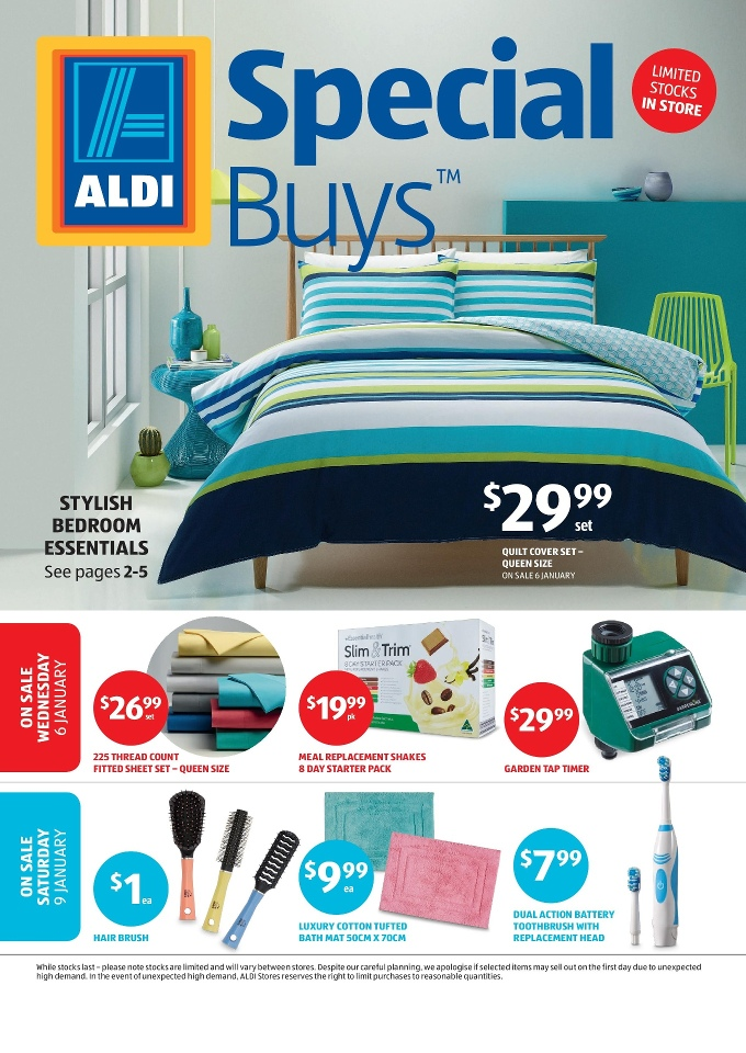 Aldi special buys week 1 2016 for Aldi gardening tools 2015