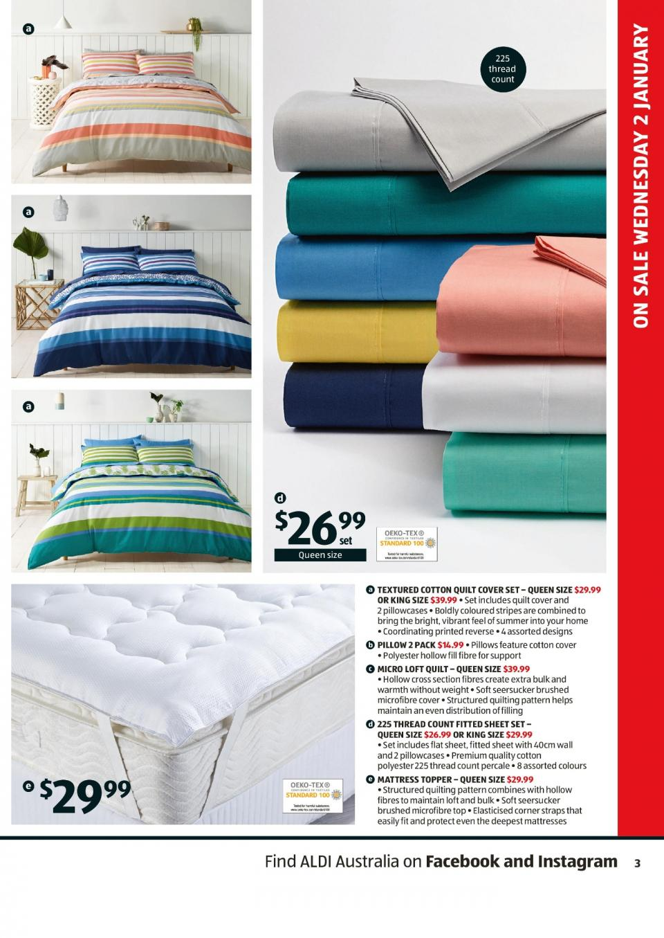 Aldi Special Buys Week 1 2019 Page 3