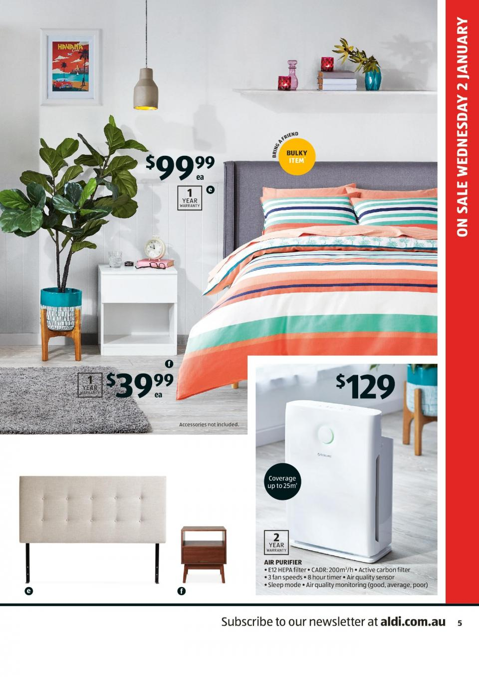 Aldi Special Buys Week 1 2019 Page 5