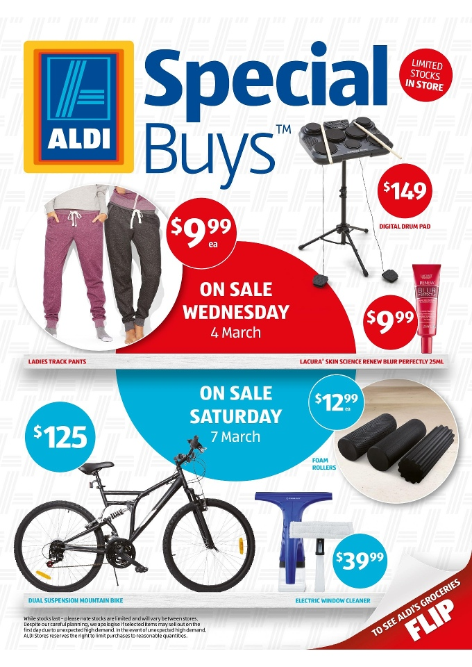 aldi special buys week 10 february 2015
