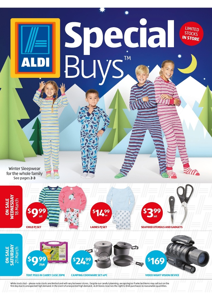 aldi special buys week 12 march 2015