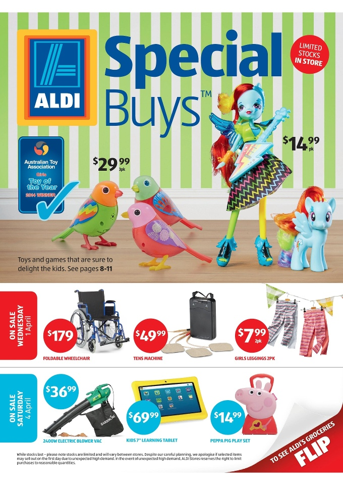aldi special buys week 14 catalogue march 2015. Black Bedroom Furniture Sets. Home Design Ideas