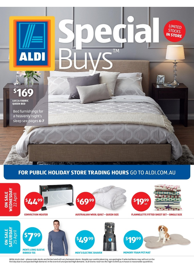 Aldi Special Buys Week 17 April 2015
