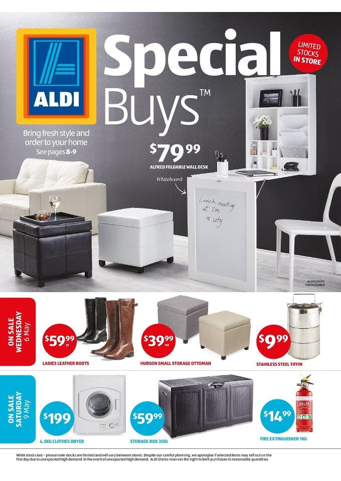 ALDI Special Buys Week 19 May 2015