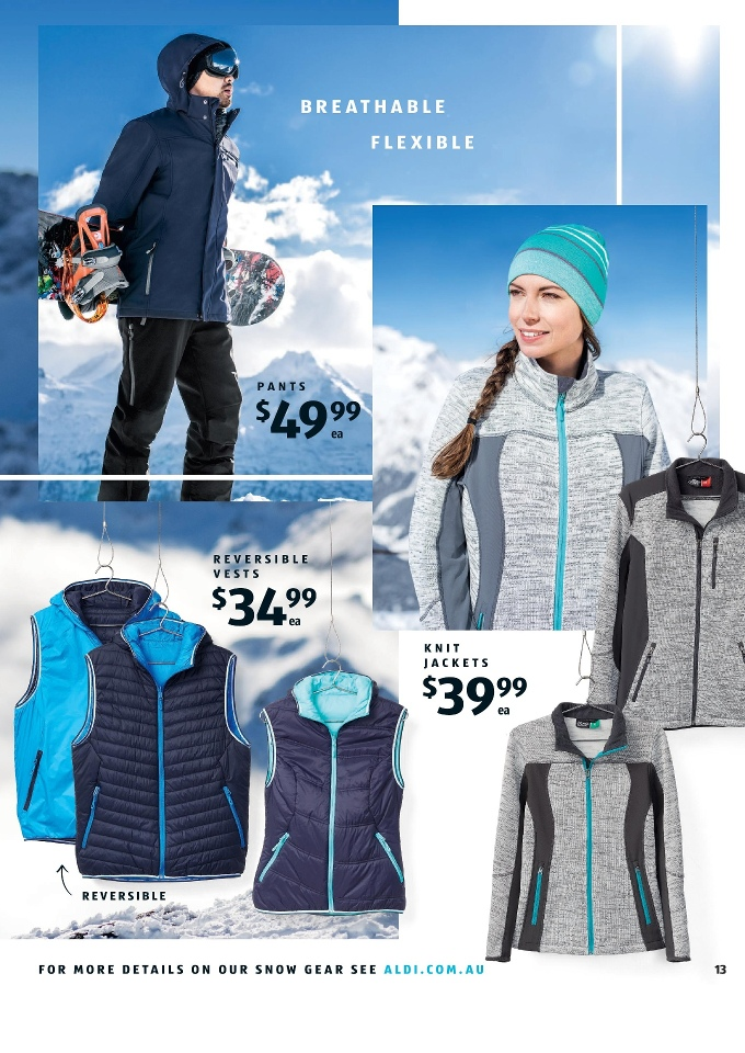 aldi special buys week 20 snow gear 2017