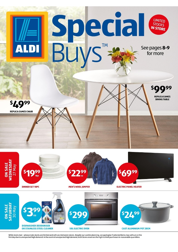 release date: a3d4d 553e5 ALDI Special Buys Week 22 Winter Home Sale 2015
