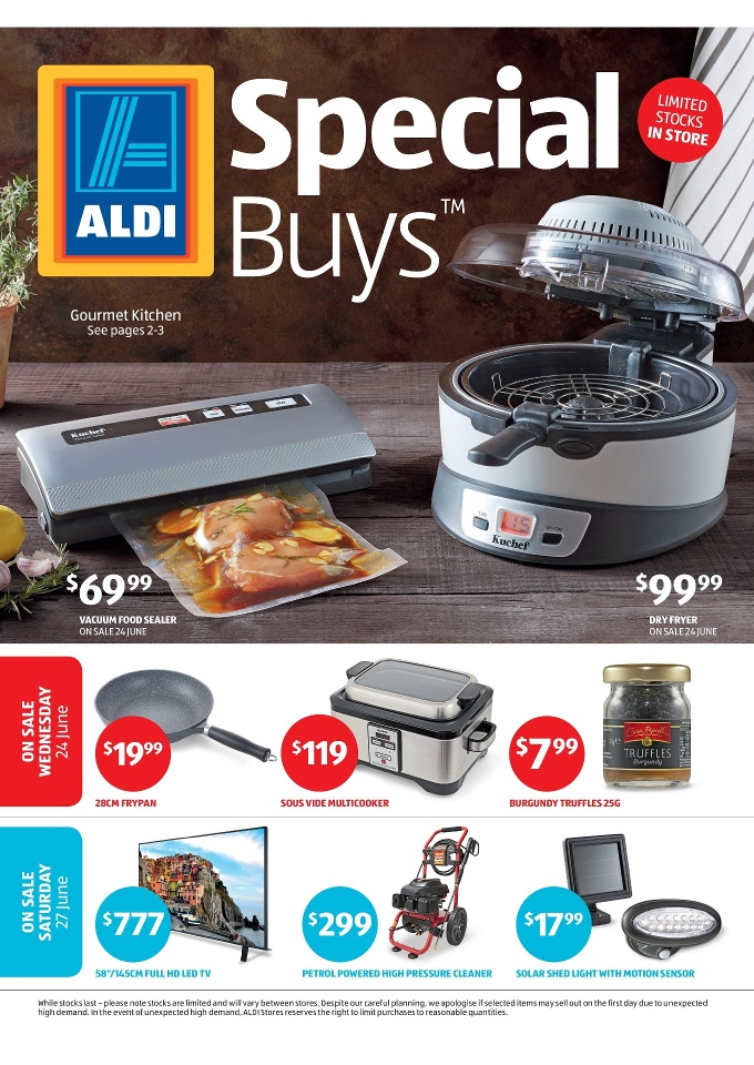 aldi special buys week 26 kitchen and electronics jun 2015. Black Bedroom Furniture Sets. Home Design Ideas