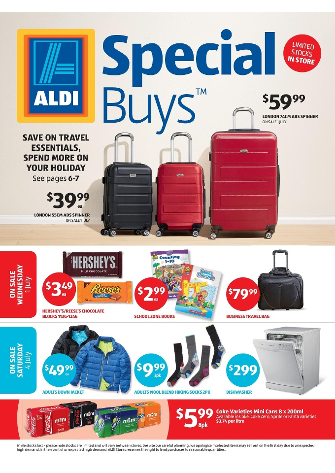 aldi special buys week 27 travel and home june 2015
