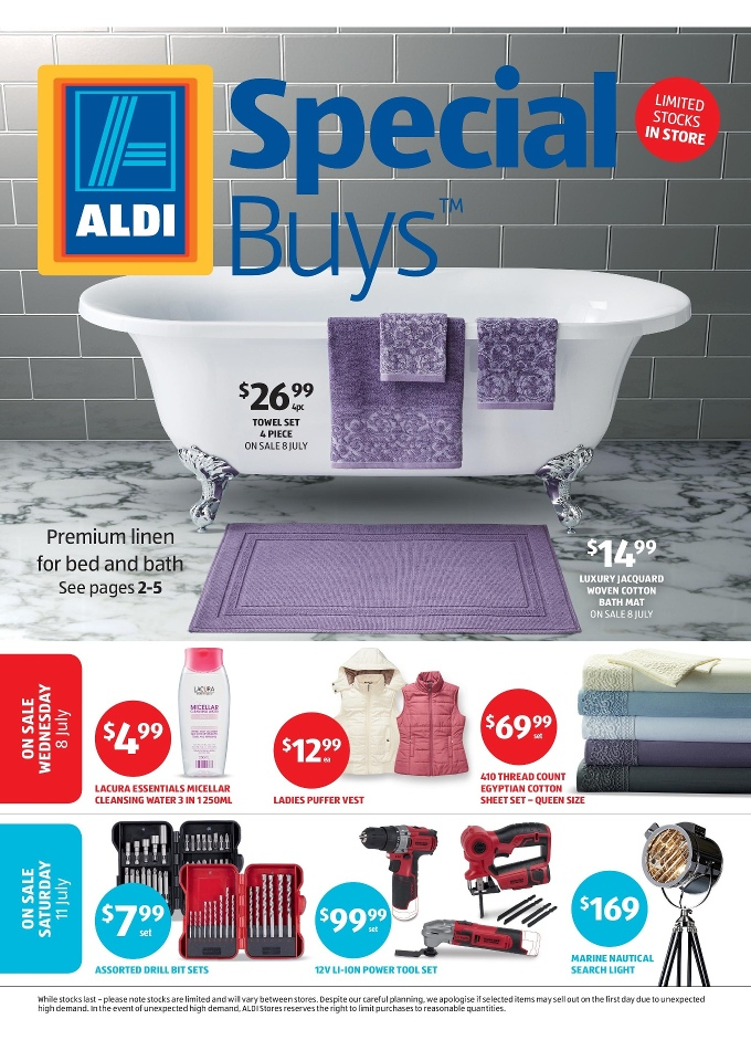 Aldi special buys week 28 july 2015 for Aldi gardening tools 2016