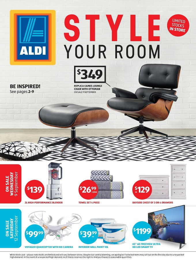 Aldi Special Buys Week 37 Home Furniture 2015