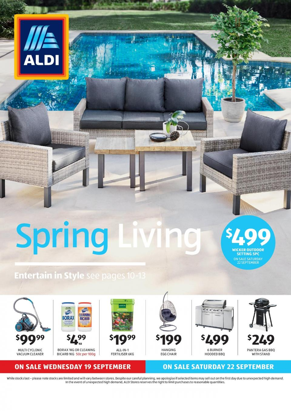 aldi special buys week 38 2018. Black Bedroom Furniture Sets. Home Design Ideas