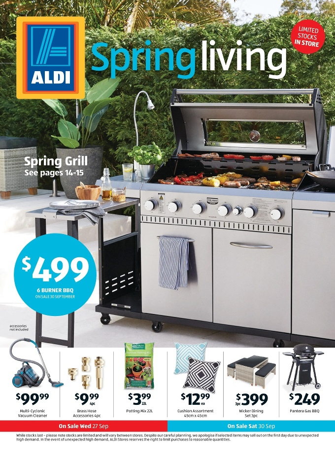 Aldi special buys week 39 2017 for Aldi gardening tools 2015