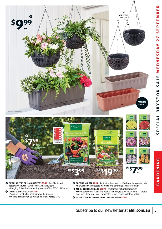 Aldi special buys week 39 2017 page 7 for Aldi gardening tools 2015