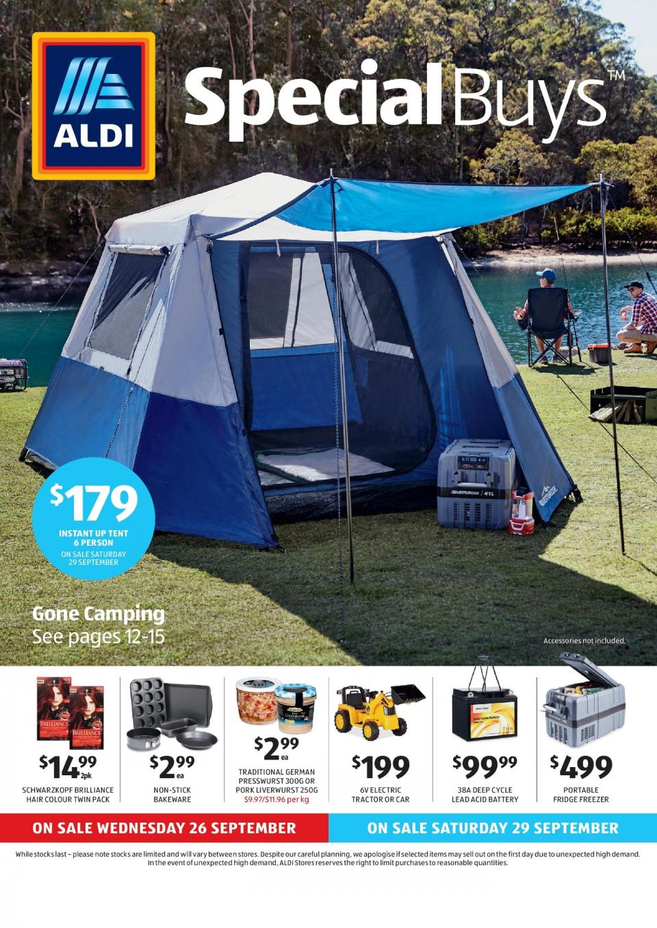 aldi special buys week 39 2018. Black Bedroom Furniture Sets. Home Design Ideas