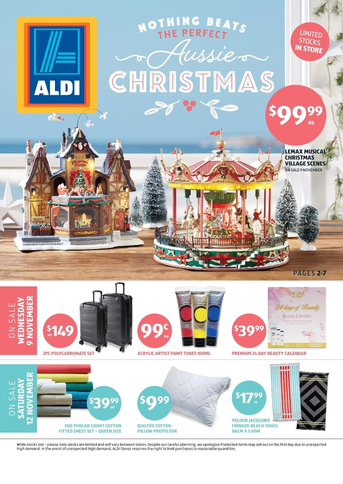 aldi special buys week 45 2016 christmas. Black Bedroom Furniture Sets. Home Design Ideas