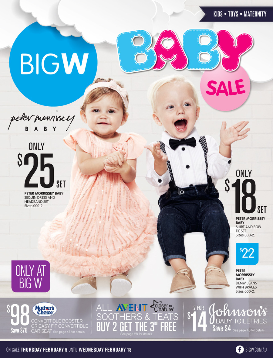 679922db7d3b0 Big W Baby Catalogue February 2015 Baby Clothing