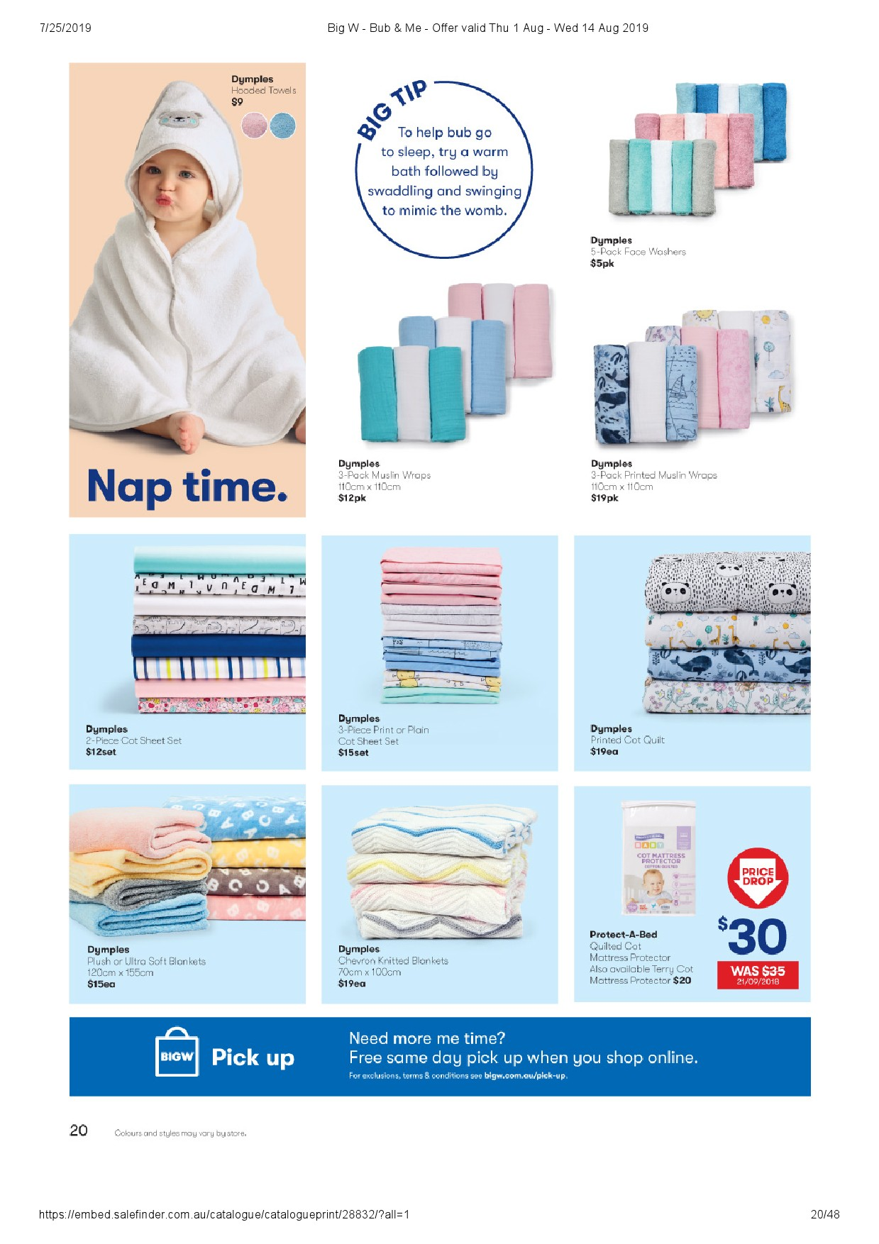 big w catalogue 1 aug 2019
