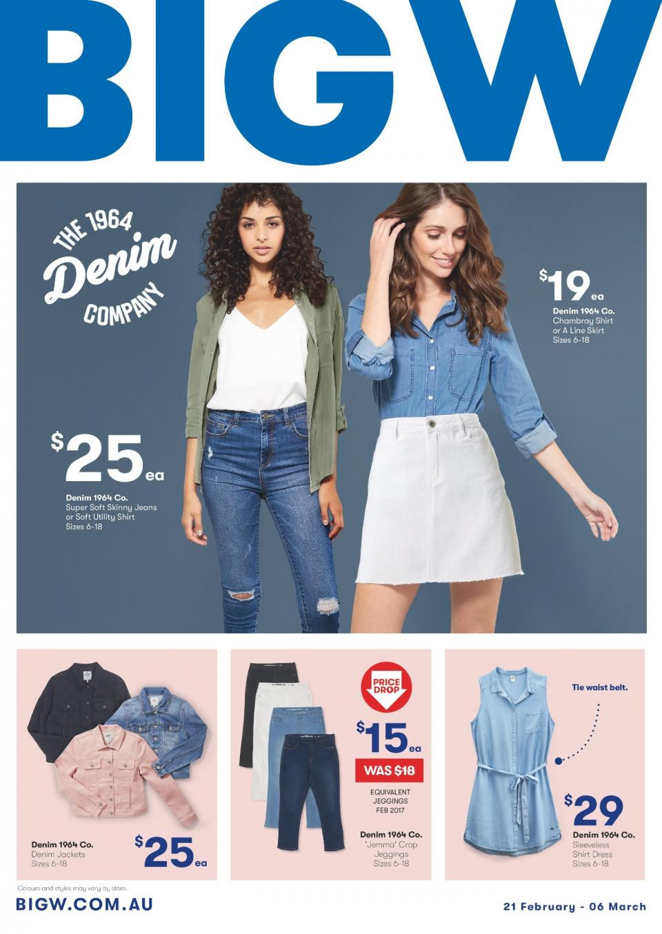 97b8afd8e4376 Big W Catalogue 21 Feb - 6 Mar 2019