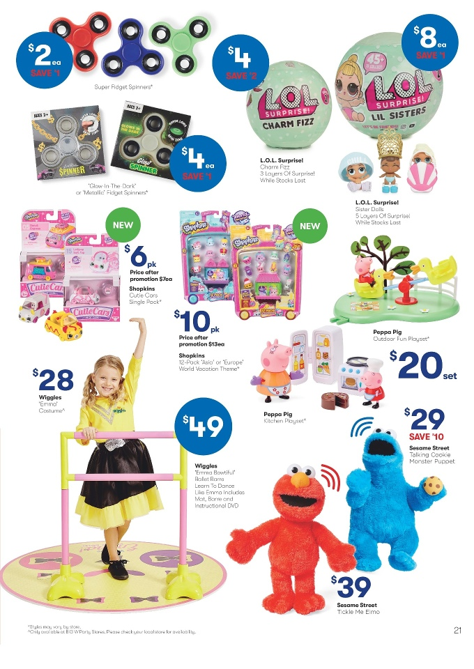 big w catalogue 6 september 2017