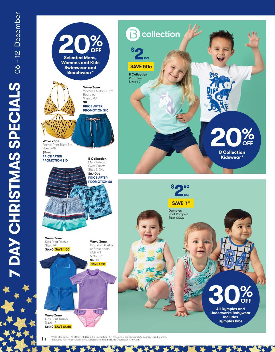big w catalogue 7 day christmas sale 2018