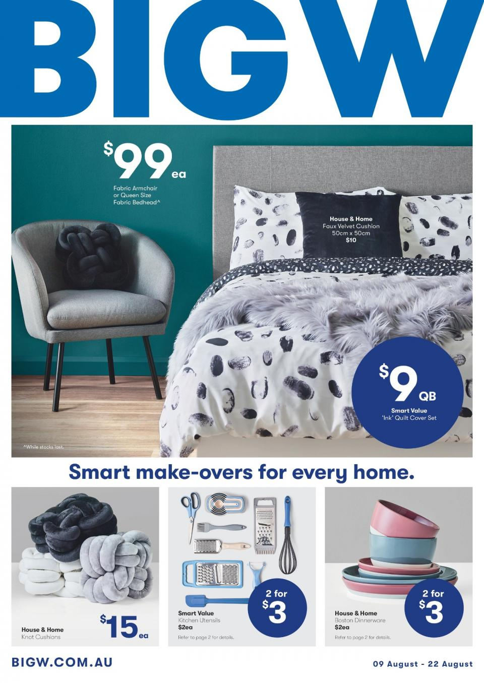 big w catalogue 9 august 2018