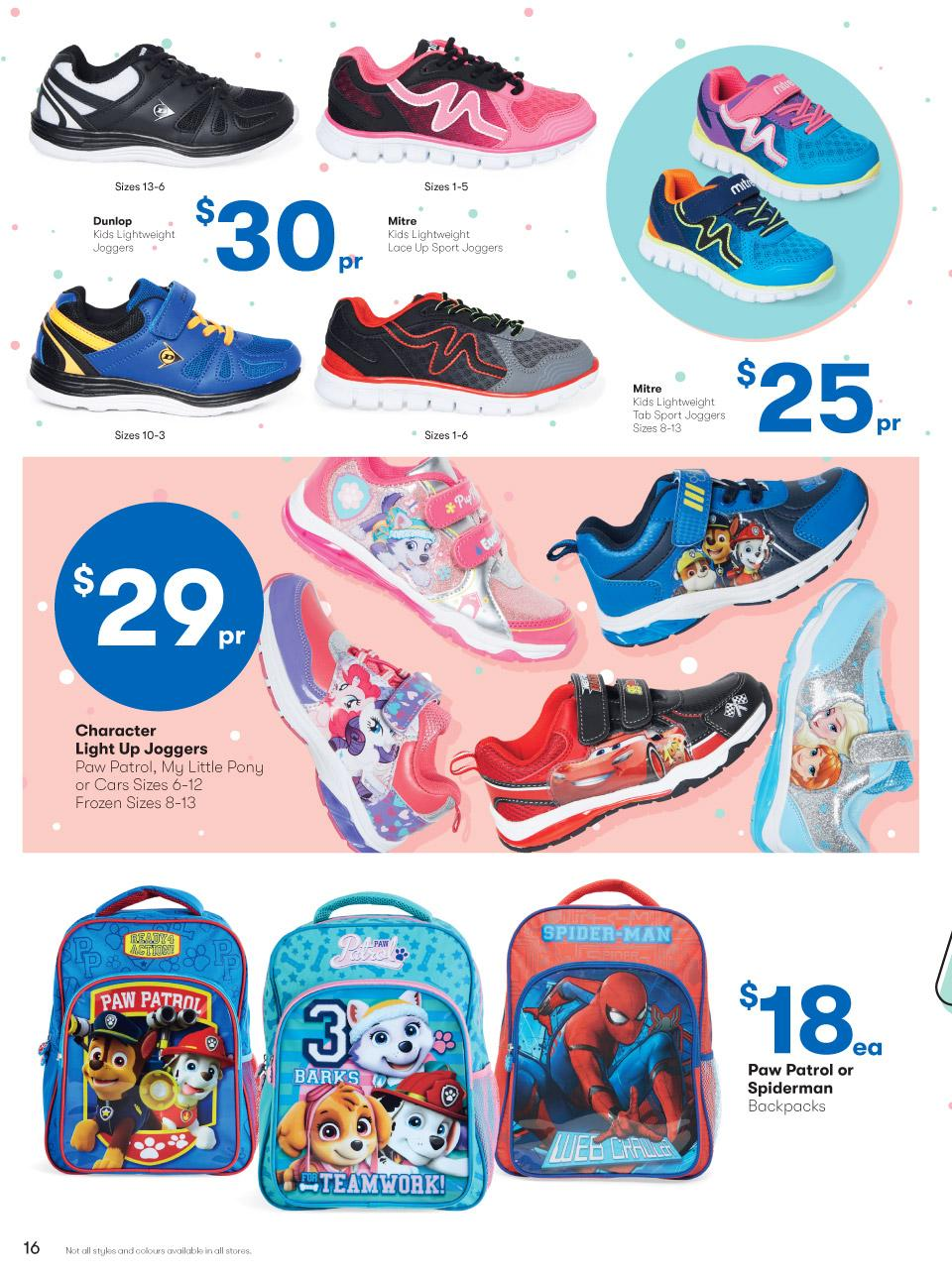 big w catalogue back to school 4 january 2018