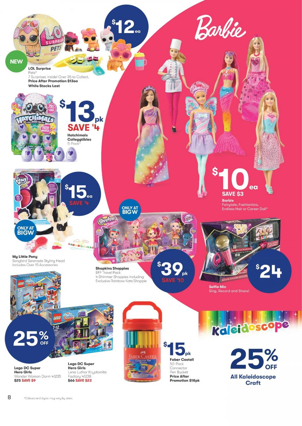 big w catalogue christmas 18 december 2017