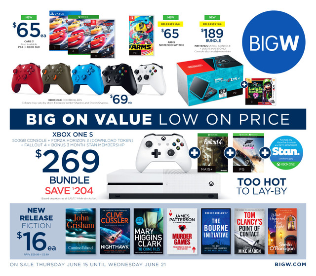 big w catalogue game sale jun 2017