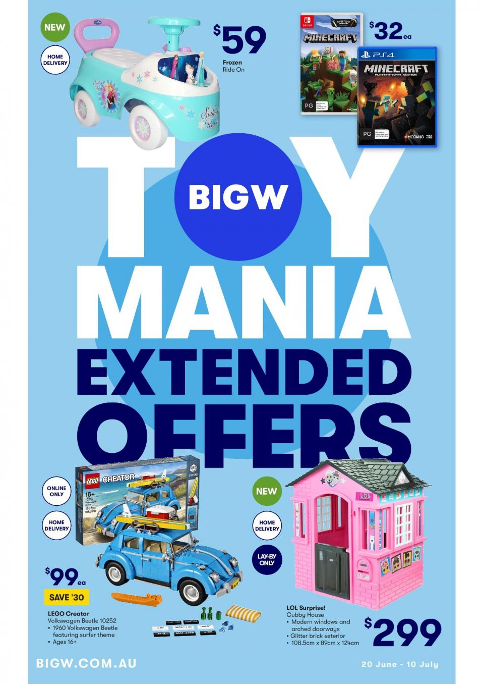 big w catalogue toy mania 20 jun 10 jul 2019