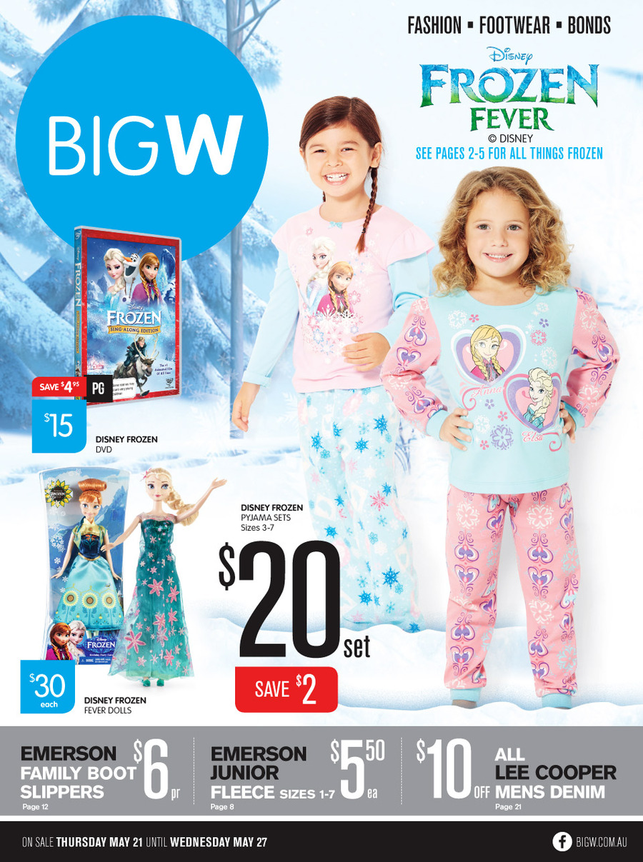 Big W Catalogue has a gift sale of casual clothing products that are suitable for Father's Day. Celebrate your father with the high-quality and fairly priced products from this catalogue that is .