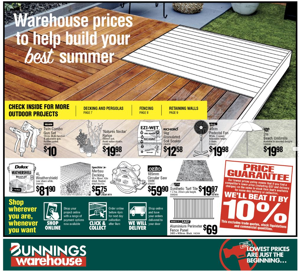 bunnings catalogue 15 jan 2020