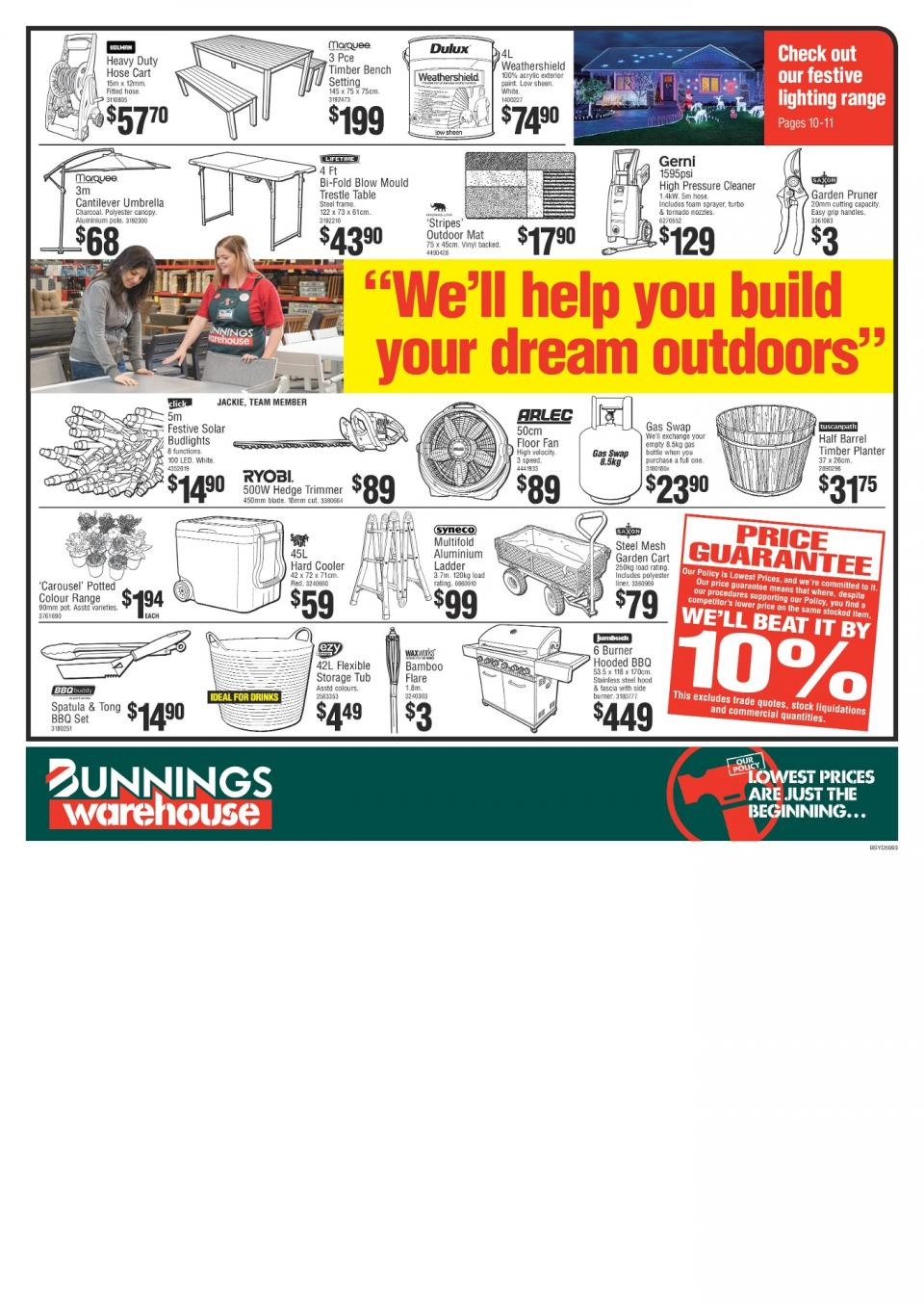 bunnings catalogue 8 november 2017