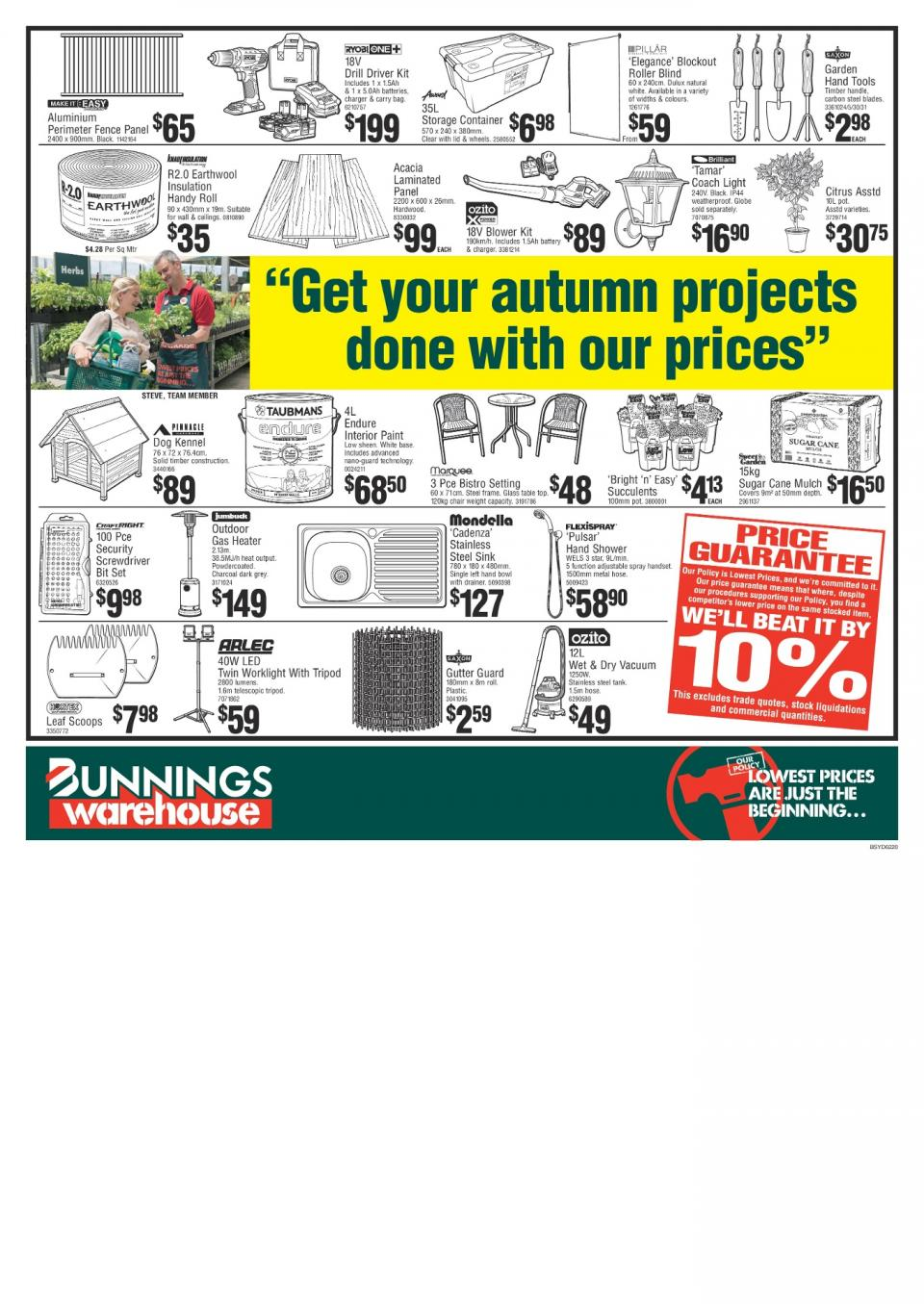 bunnings catalogue april may 2018