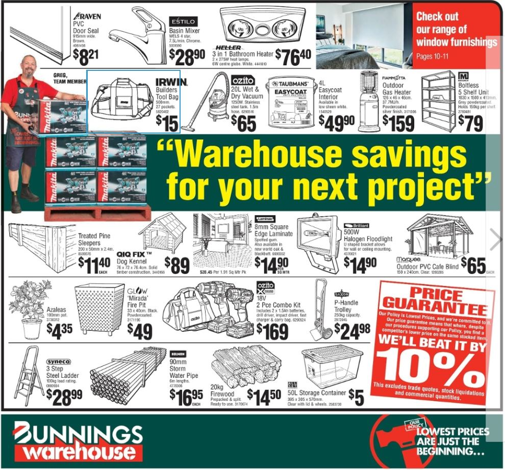 bunnings catalogue august 2017