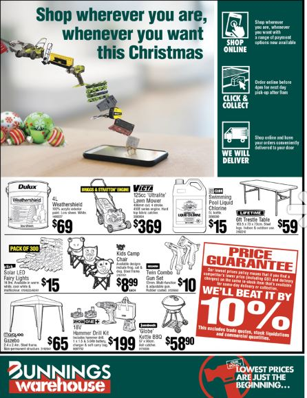 bunnings catalogue christmas nov 2019