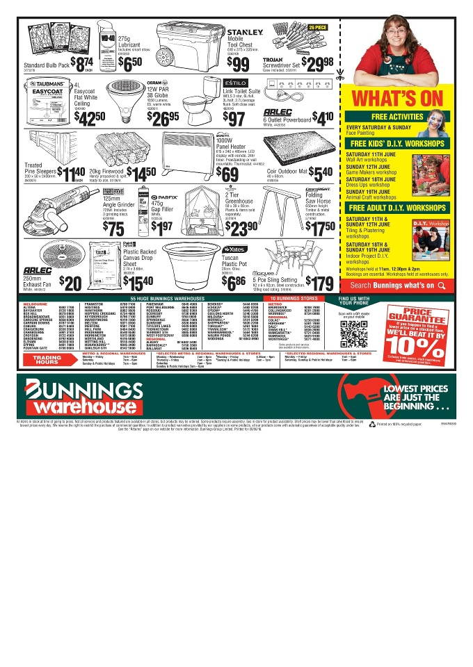 bunnings catalogue june 2016